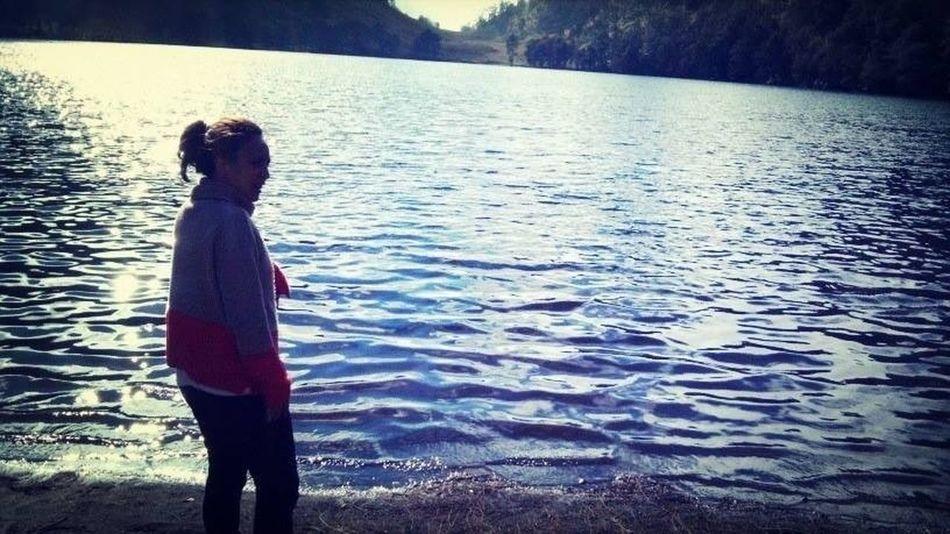 ❤❤❤ Ranukumbolo Riverside Mount Semeru Enjoying Life