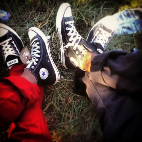 Chuck_Taylor Converse All Star Taylor Lifestyle Red Black Swagged Up mix_n_match Glaying Chilled Vibes