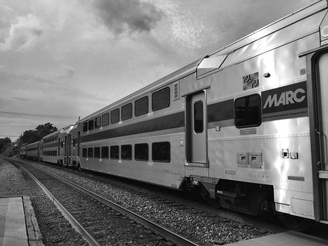 Public Transportation Commuting IPhoneography Monochrome Blackandwhite Black And White