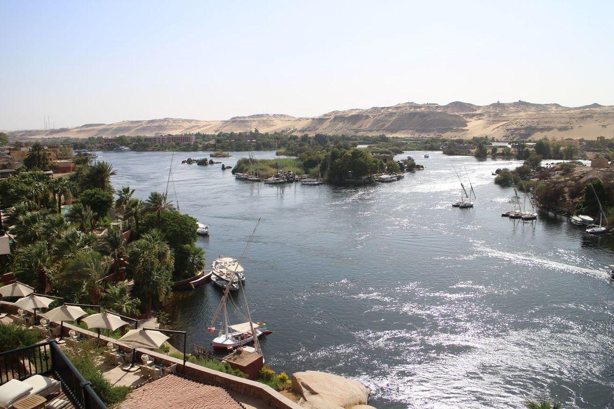 The Nile Aswan Egypt Sofitel
