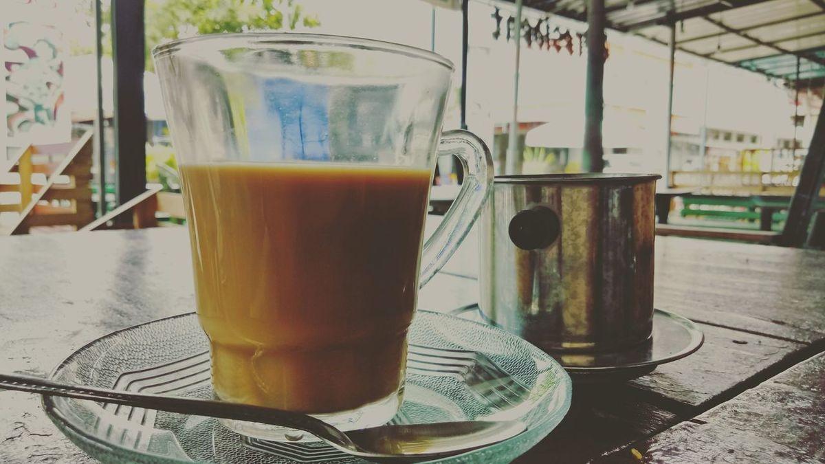 Long Goodbye Drinking Glass Refreshment Coffee Time Vietnamcoffee Coffeetime