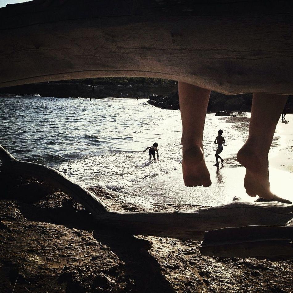 Beautiful stock photos of legs, Bare Feet, Beach, Boys, Childhood
