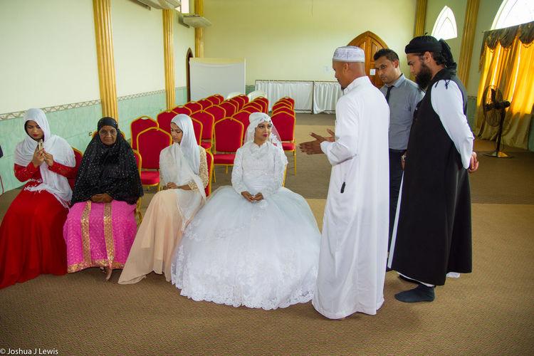 Wedding Ceremony Wedding Dress Traditional Clothing Stillife Ceremony Trinidad And Tobago Architecture Caribbean Muslimwedding Life Events Celebration Bride Religion