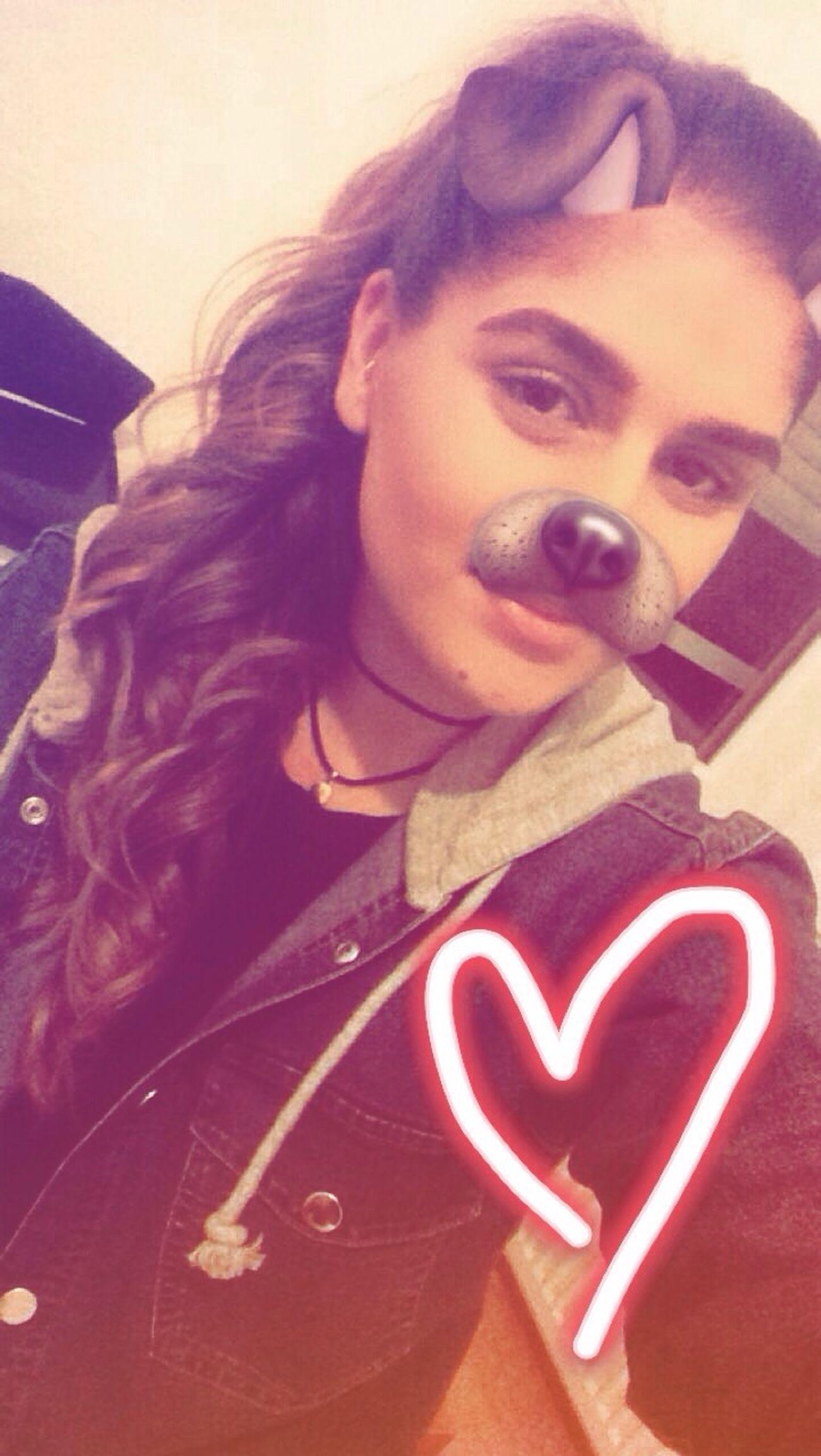 👻 Filterlove Snapchat Lifestyles Portrait Selfie ✌ Goodgirl Followme Beutiful  Smiling Love Choker Curly Hair