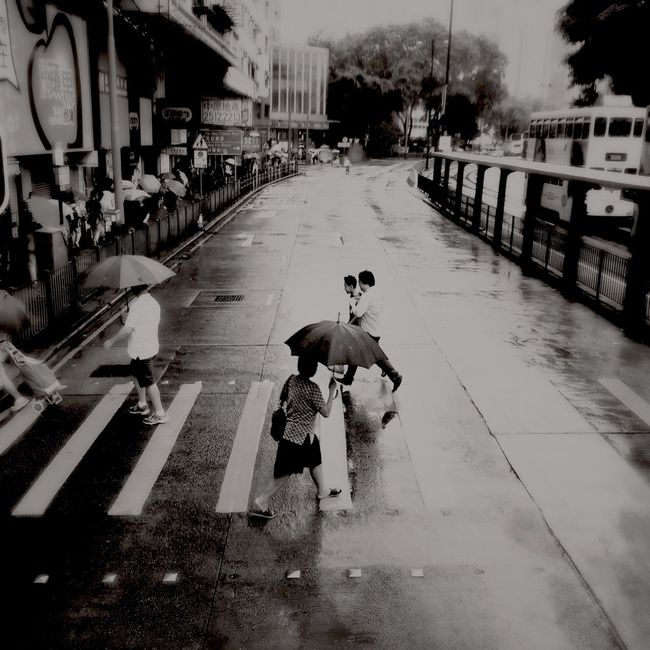 Tin Hau crossing IPhoneography Street Photography Urban HongKong Hong Kong WeAreJuxt.com Shootermag AMPt_community Eyeem Philippines Theappwhisperer Iphone6plus Hipstamatic NEM Submissions Streetphotography Black & White Streetphotography_bw NEM Black&white NEM Street EyeEm Best Shots - The Streets Monochrome Streetphoto_bw People Blackandwhite Rainy Days