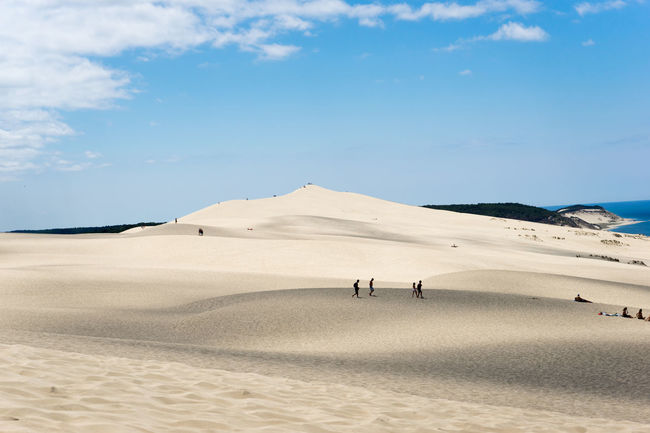 Dune du pilat revisited... Beauty In Nature Cloud - Sky Dune Du Pilat Getting Away From It All Landscape Light And Shadow Nature Remote Sand Sky Tranquil Scene Tranquility Vacations Wide Open Spaces Dune Du Pyla
