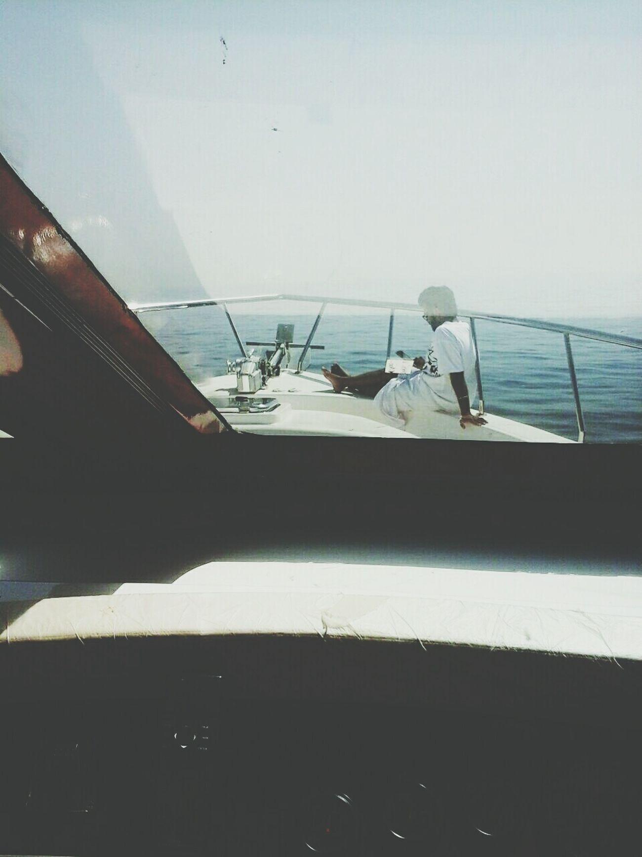 Being a captain...🌊💙⛵ Unitedarabemirates Lifeinuae Sealife Yacht Abudhabi UAE