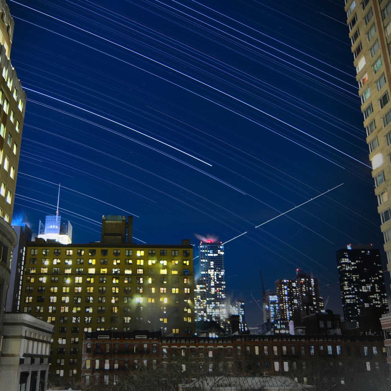 The stars Night City Sky Milky Way Star - Space Space Galaxy Astronomy Cityscape Startrial The City Light EyeEmNewHere