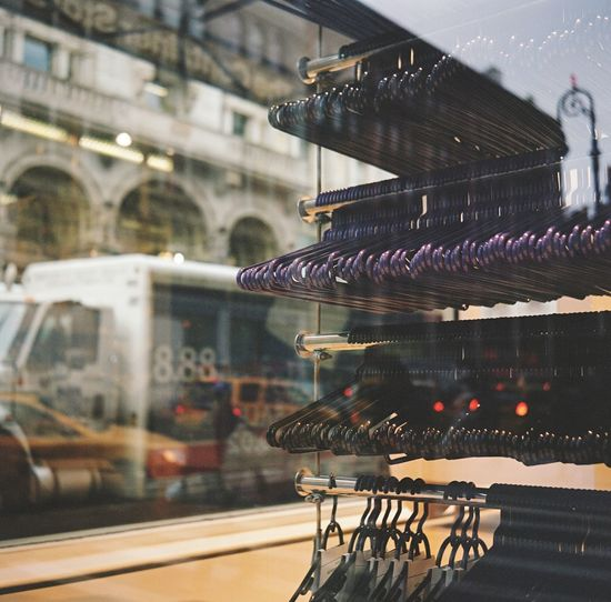 Reflecting on Container Store window, February 2016 Flatiron District Manhattan NYC Reflection Store Window Streetphoto_color Lubitel Medium Format Film Photography Kodak Portra 400 Kodak Portra Kodak Portra Hangers Eyeemphoto