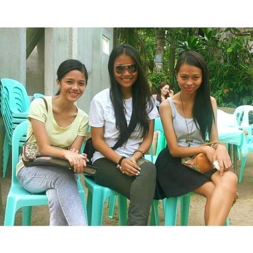 With my comm sisters Babemitch Indaytwin