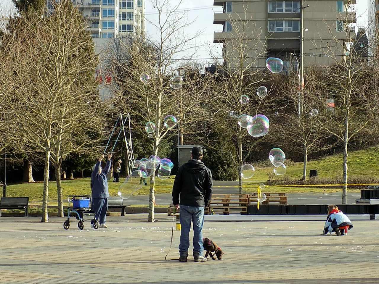 Bubbles!!! Real People Architecture City Togetherness Family❤ Fun Bubbles ♥ Nanaimo BC Vancouver Island Canada Canada 150 EyeEmNewHere