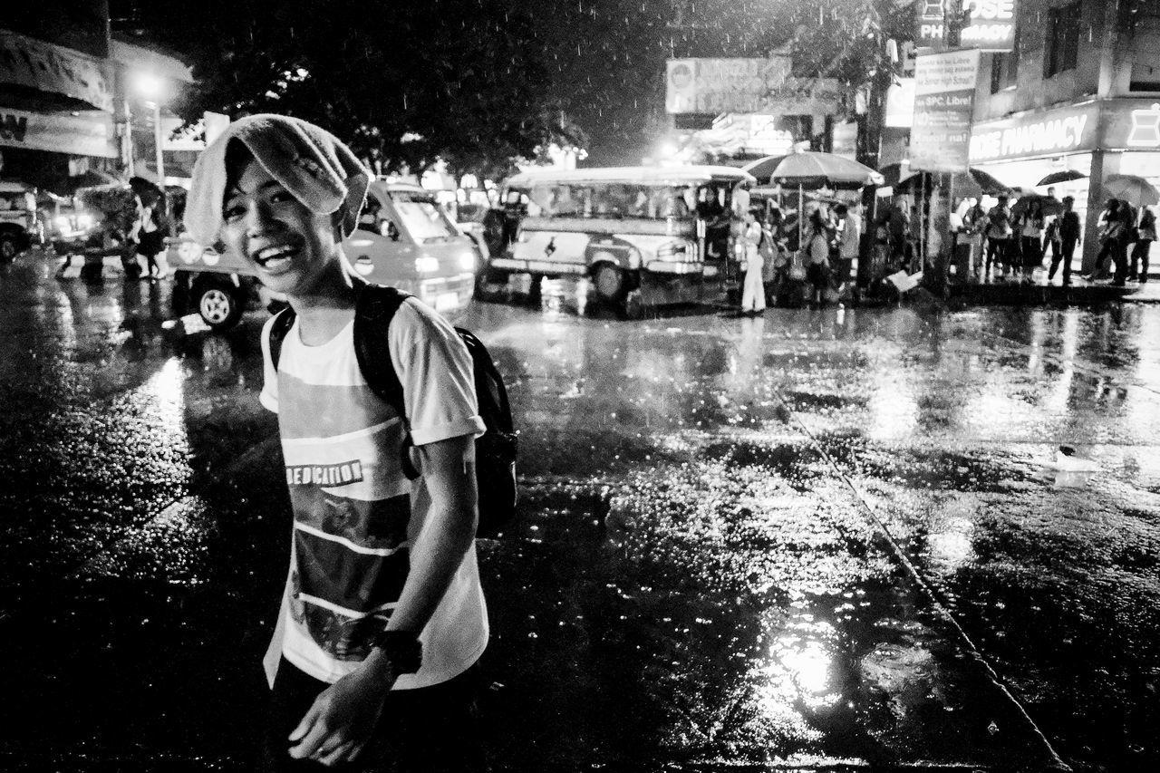 Fujifilm X-Pro2 XF18mmF2R. July 2016. Street Photography Eyeem Philippines Cagayan De Oro City Philippines Monochrome Photography XF18mmF2.0 Xf18mm Fujifilm_xseries Rain