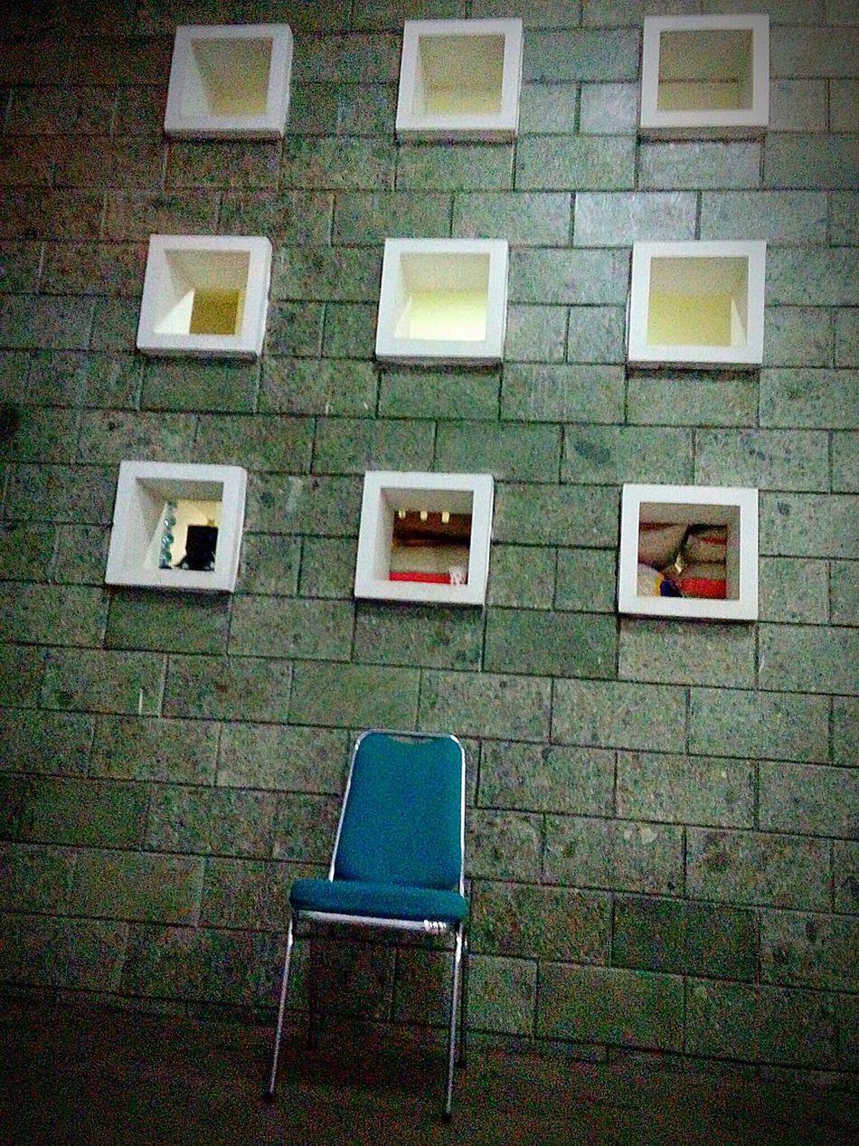 Exterior Wall Ventholes at Masjid Al Fattah Jatinegara Jakarta | Flying BoxesExposed Bricks Contemporary Architecture Minimalism Mosque Fine Art Photography Place Of Worship Religion Spirituality