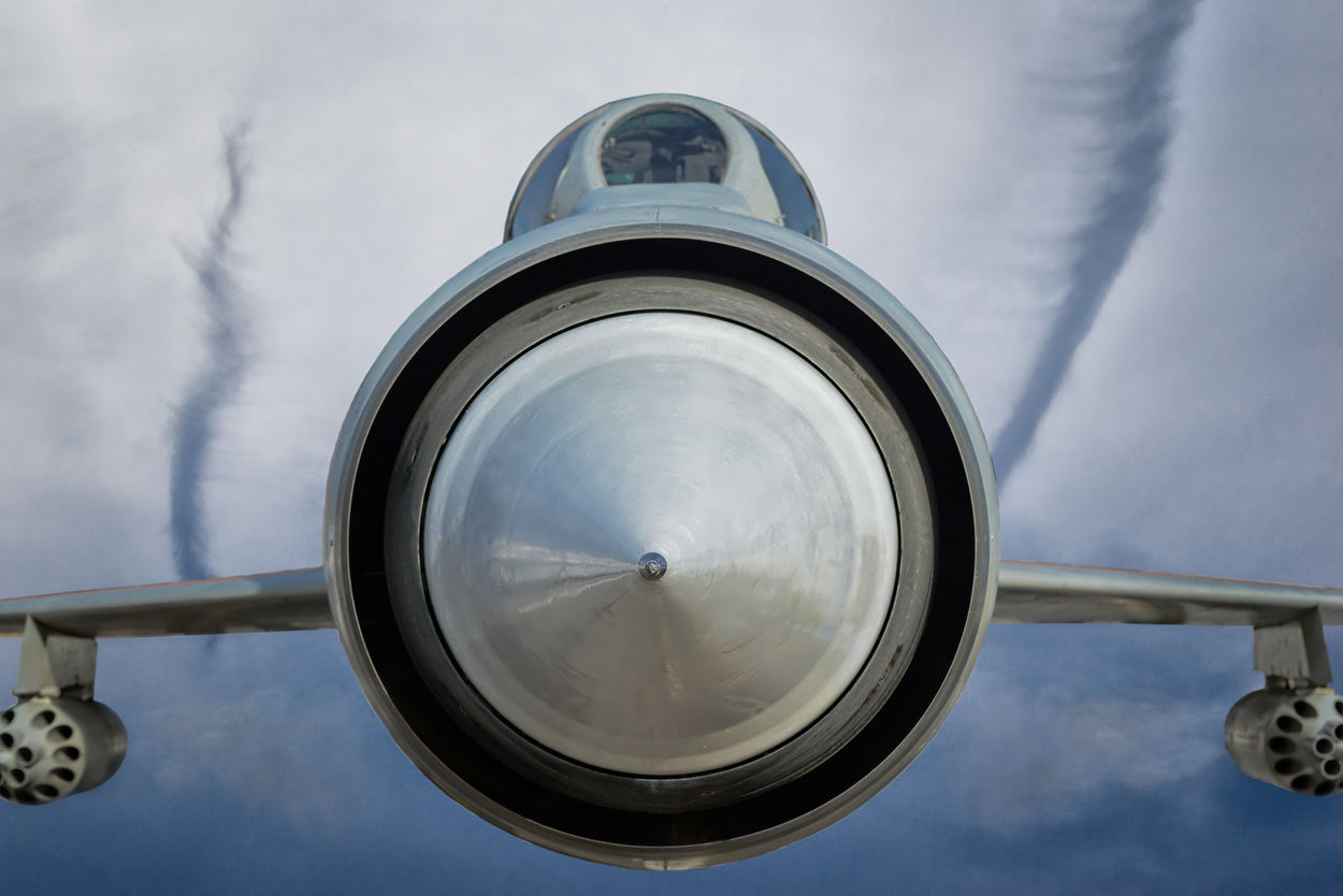 Engines Fighter Jet Intrepid Explorer Jets Metal Planes Sky Yellow