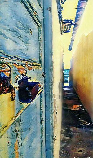 Une belle vue de la mére entre des cabanons Harhoura Beach Temara Beachphotography Cabanon Art Natural Nature Nature_collection Nature Photography Maroc Marocco Marokko Outdoors Day No People Architecture First Eyeem Photo