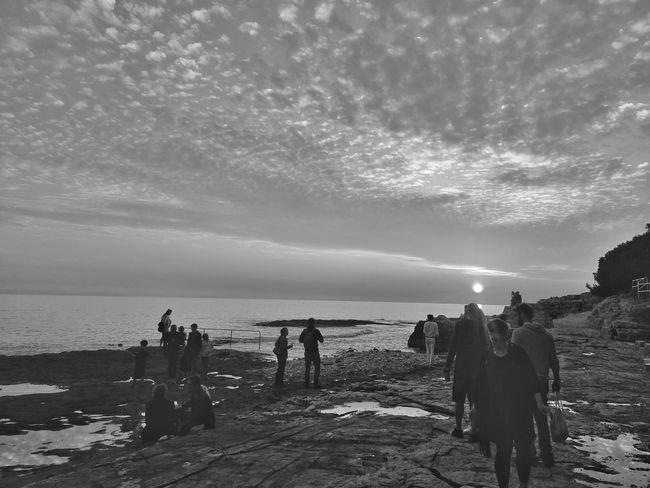 Lighthouse Festival People Sea Sunset Black White Lanterna Music