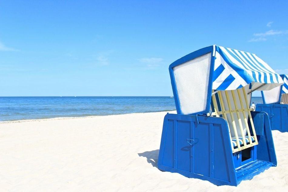 Beautiful stock photos of sunny, Absence, Beach, Beauty In Nature, Blue