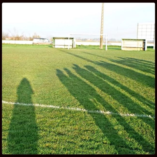 Light And Shadow Green Nature Football