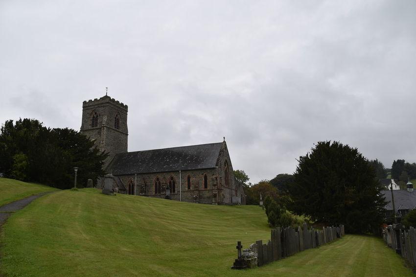 Architecture Church Cloud - Sky Day Horizontal Llanfair Caereinion No People Outdoors Pilgrimage Sky Tree Wales UK Welsh