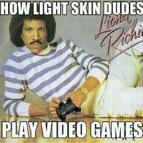Hahahah Lightskins