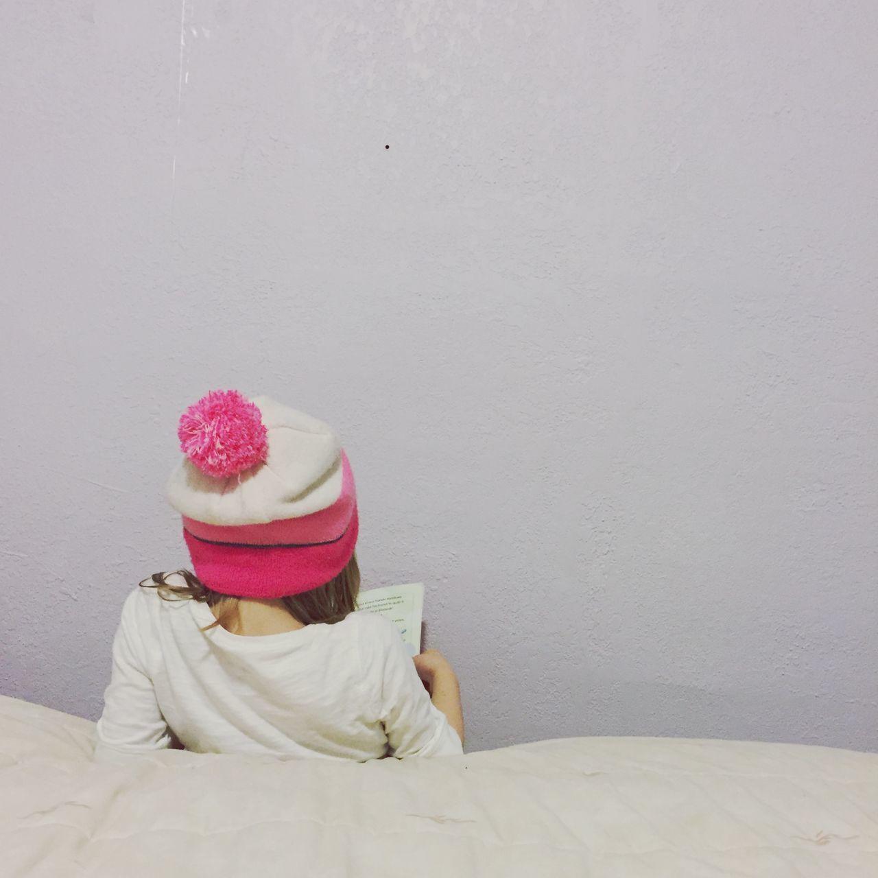 Beautiful stock photos of girl, Bed, Book, Copy Space, Girls