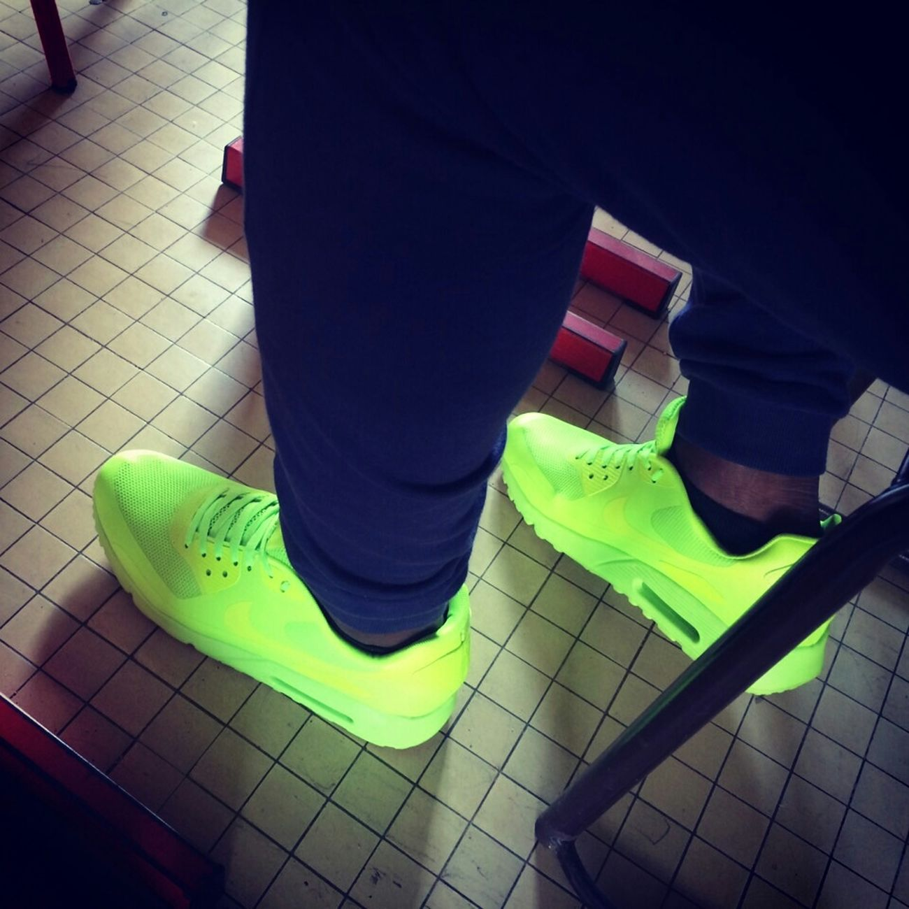 Nike Airmax Hyperfuse Fluo  Swag Enjoying Life Real Nigga Shit