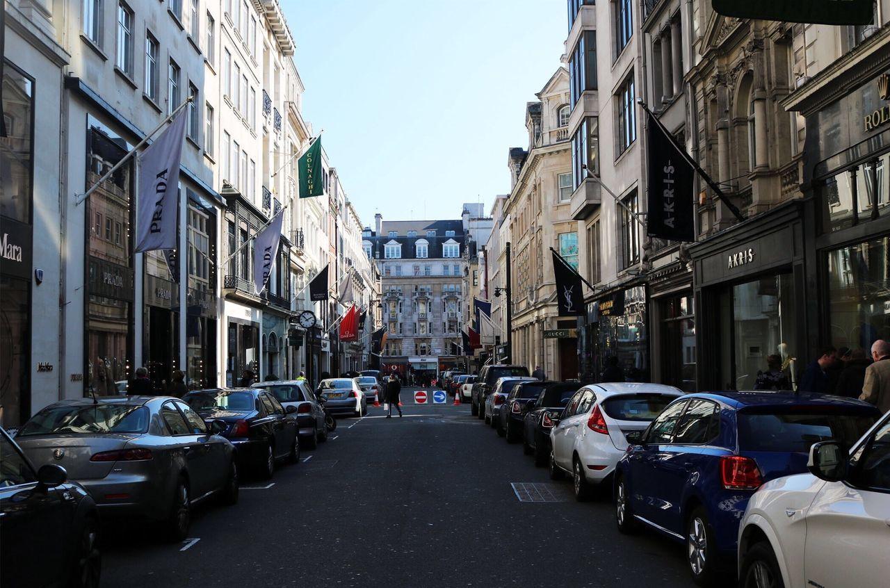 London United Kingdom Streetphotography Prada GUCCI Designer