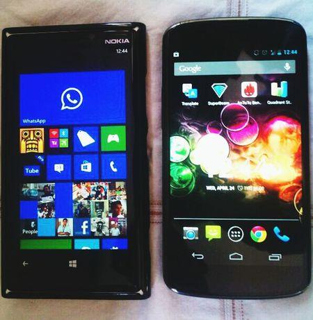 Nokia Lumia 920 Nexus 4