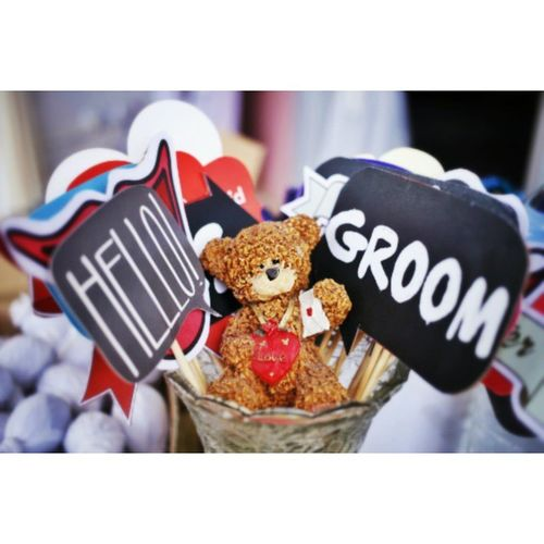 Hello Groom Bubbletalk Teddybear 6D Liveupdate Assigment Wedding Segamat 7kalerpicture Azra+Akram reception