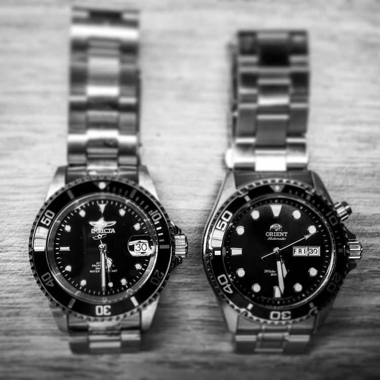 Submariner Homage Watch Black And White Watches Invicta 8926ob LG G3 Orient Ray