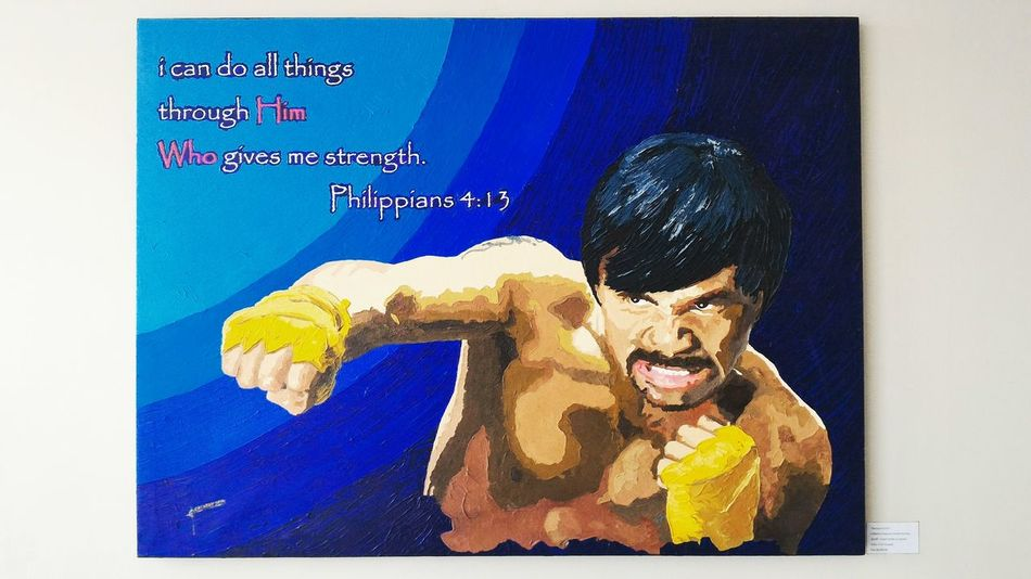 Painting Mannypacquiao Notmypainting