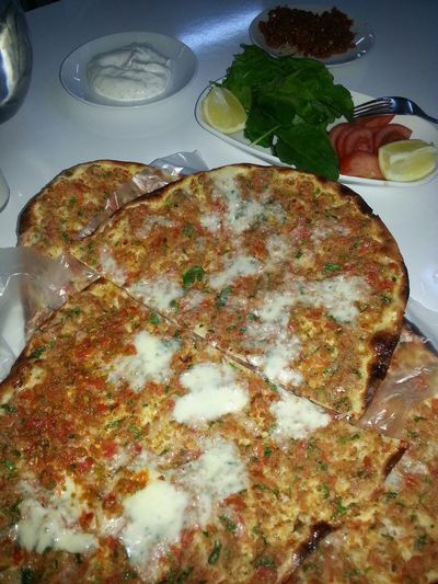 Yummy Lahmacun Beyoglupide Best  Fethiye Foodporn Lifeisgood Lick Your Lips Pizza Enfes