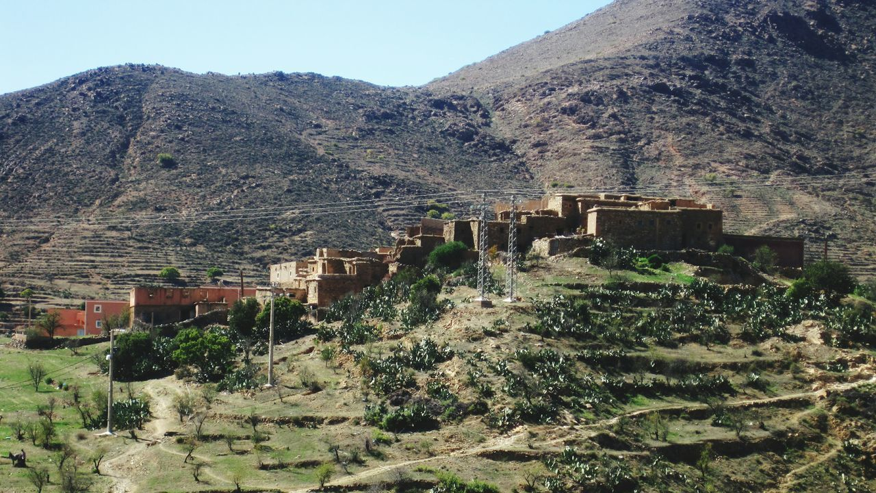 Souss-masa-draa Tiznit Tafraoute Morocco 🇲🇦 Morocco Atlas Mountains