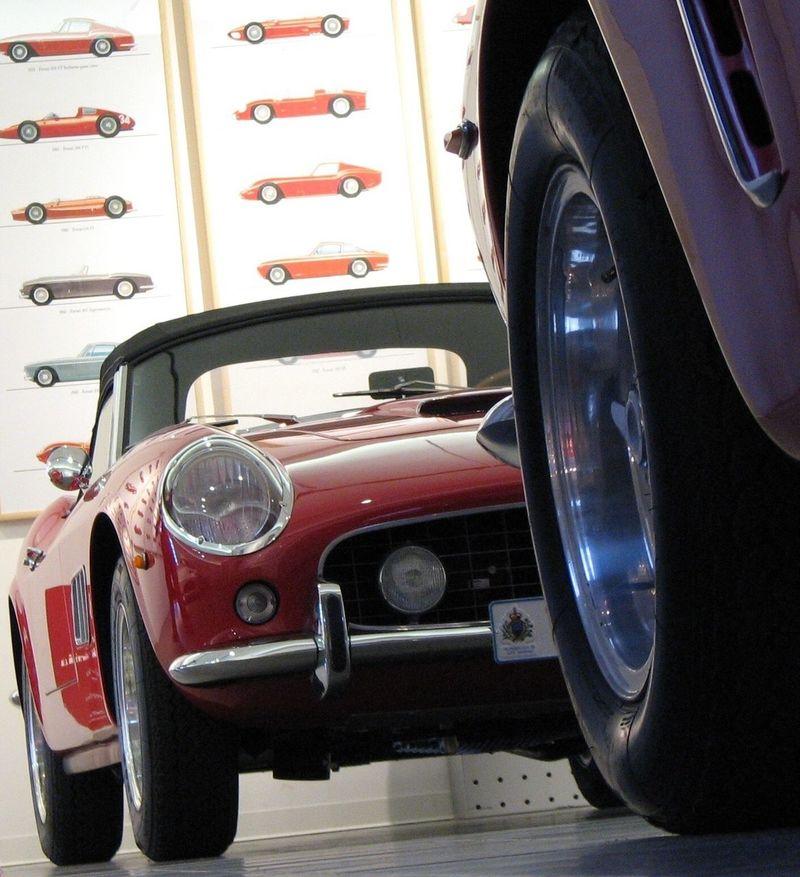 Ferrari Cars Galléria Ferrari Maranello Ferrari 250 California