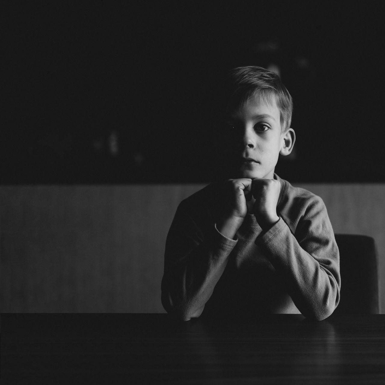 Boys BYOPaper! Childhood Close-up Day Elementary Age Front View Home Interior Indoors  Lifestyles Looking At Camera One Person People Portrait Real People Sitting The Portraitist - 2017 EyeEm Awards Young Adult