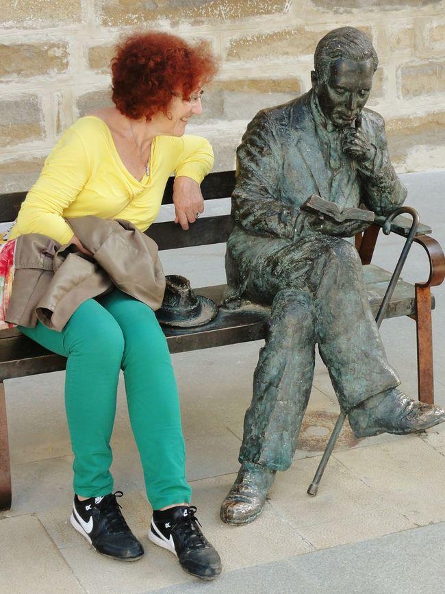 España Baeza The Human Condition Reading A Book Street Photography Bettertogether