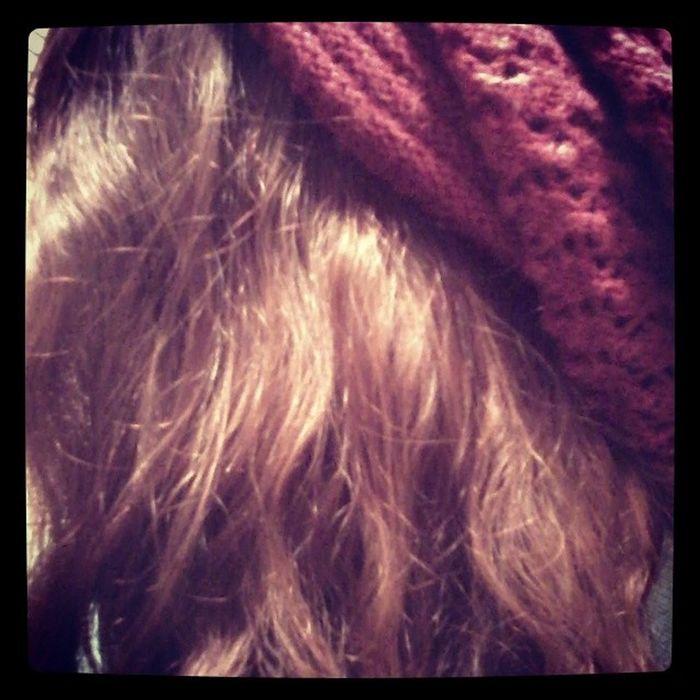 Natural hair Beanieswag (idea from @savannahhbabie ) :p