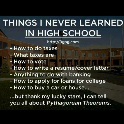 So True!! Public School Smh!