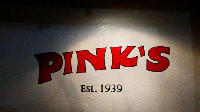 Pinks Pinks  Hotdogs Food Foodspotting Food On The Go Classic Classic Beauty Classic Architecture Hollywood History History Through The Lens  Red Red Color Black Sign Signs SignSignEverywhereASign Signs & More Signs Historical Landmarks Historic Buildings  History Architecture
