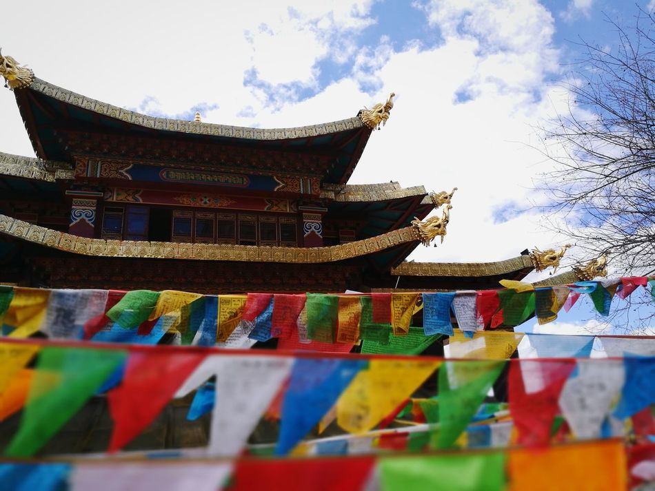 Multi Colored Cultures Architecture Temple - Building 佛教