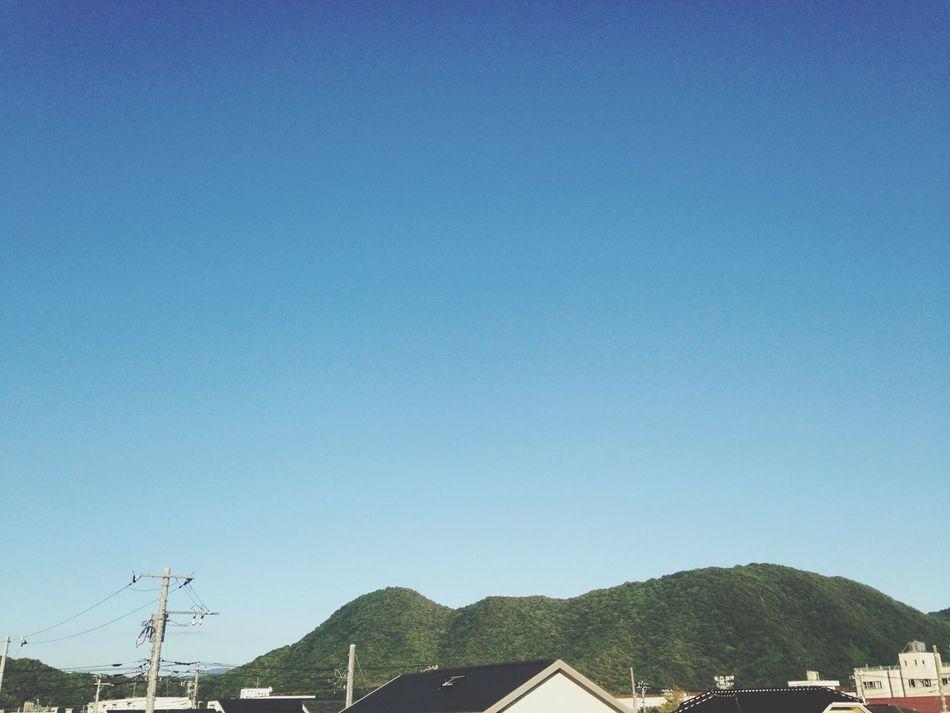 青空 雲が一つもない