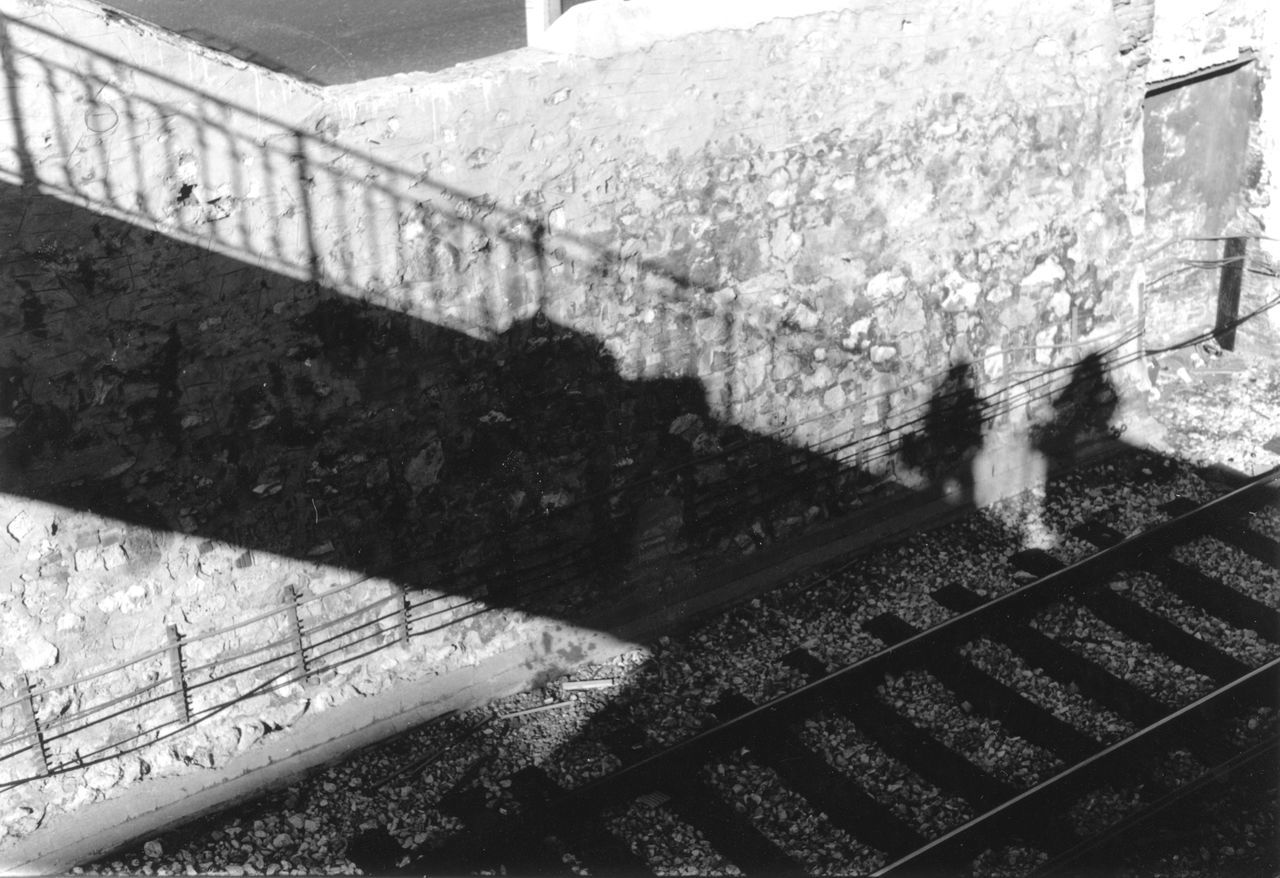 Black&white Blackandwhite Blackandwhite Photography Day Outdoors People Shadow People Shapes People Silhouette Rail Shadow Shadows & Lights Stairs Stairs Steps Train Station The Street Photographer - 2016 EyeEm Awards