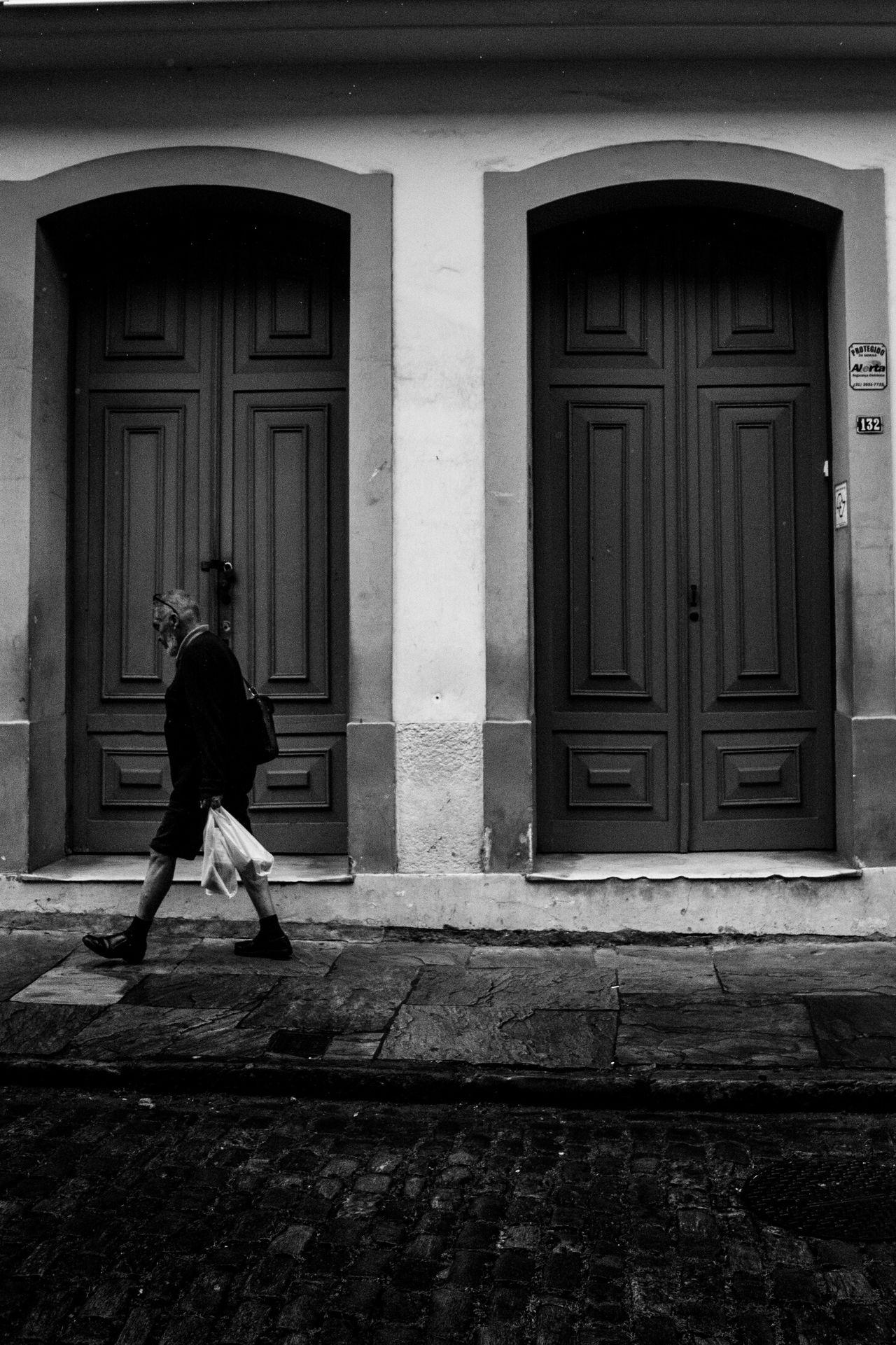 Historic City Ouro Preto - Brasil Blackandwhite Streetphotography Street Men First Eyeem Photo