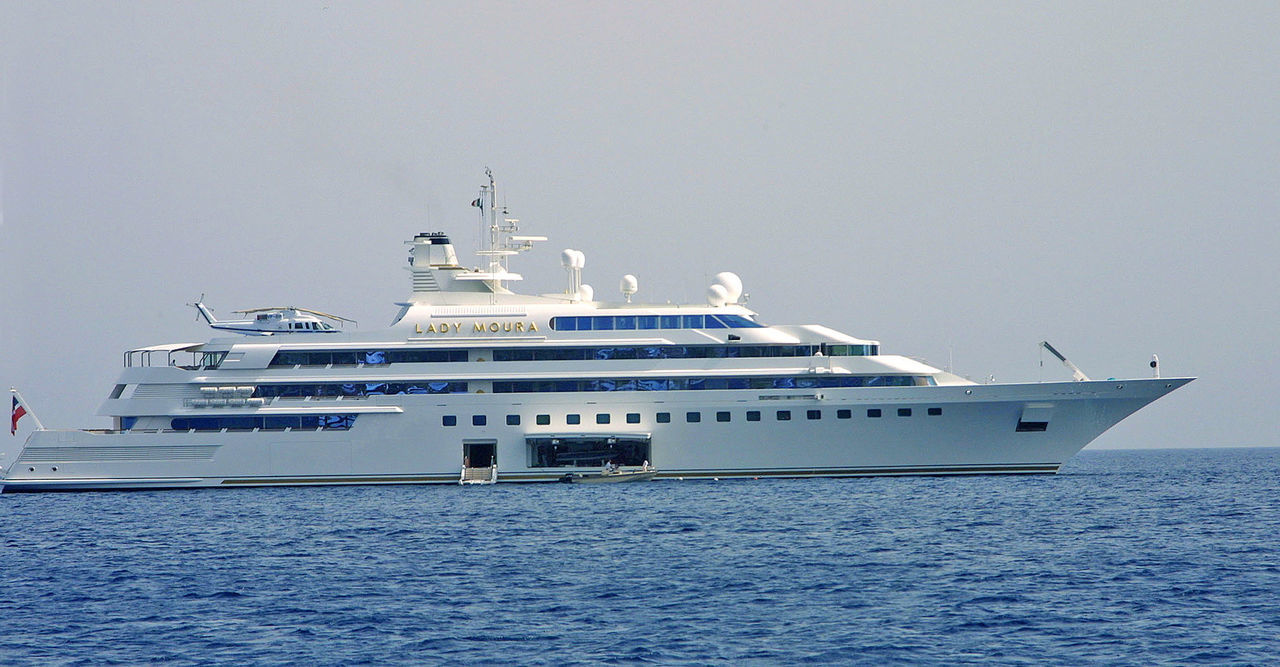 """Millionairs yacht """"Lady Moura"""" anchored off Capri, Italy Capri, Italy Clear Sky Cruise Ship Day Lady Moura Luxury Millionairs Yacht Mode Of Transport Nature Nautical Vessel No People Outdoors Private Yacht Sea Ship Sky Transportation Water Yachts Sommergefühle"""