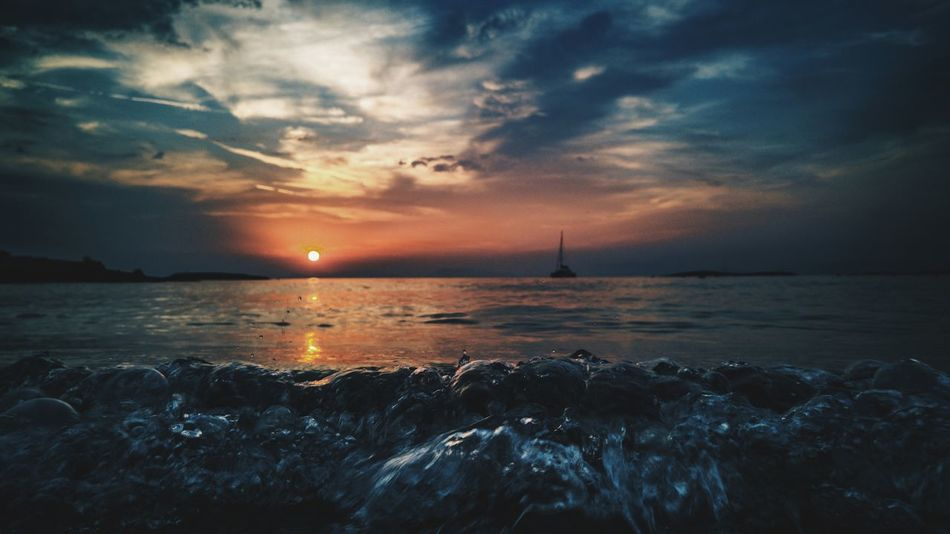 Beautiful stock photos of athens, Atmosphere, Atmospheric Mood, Beauty In Nature, Horizon Over Water