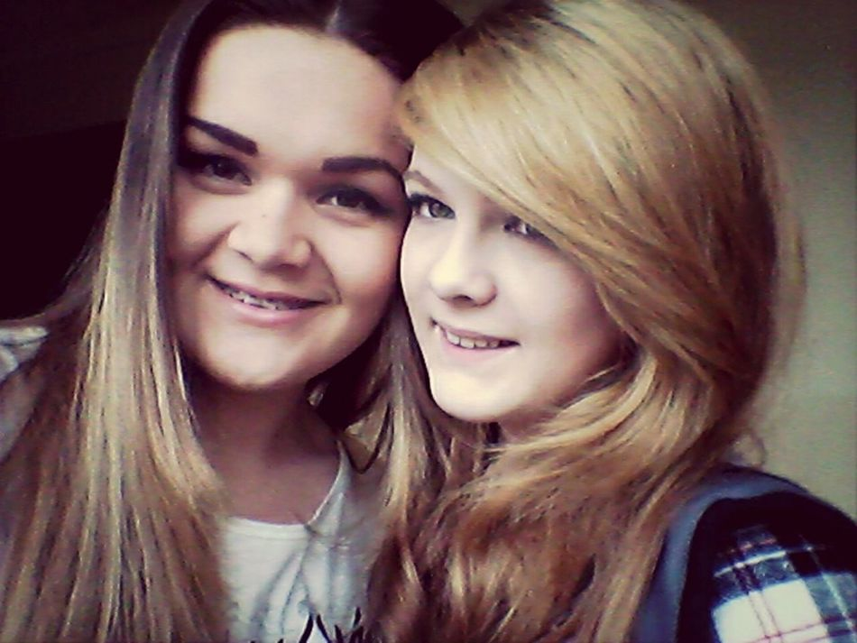 Selfie ✌ With My Bff <3 At School Smile ✌