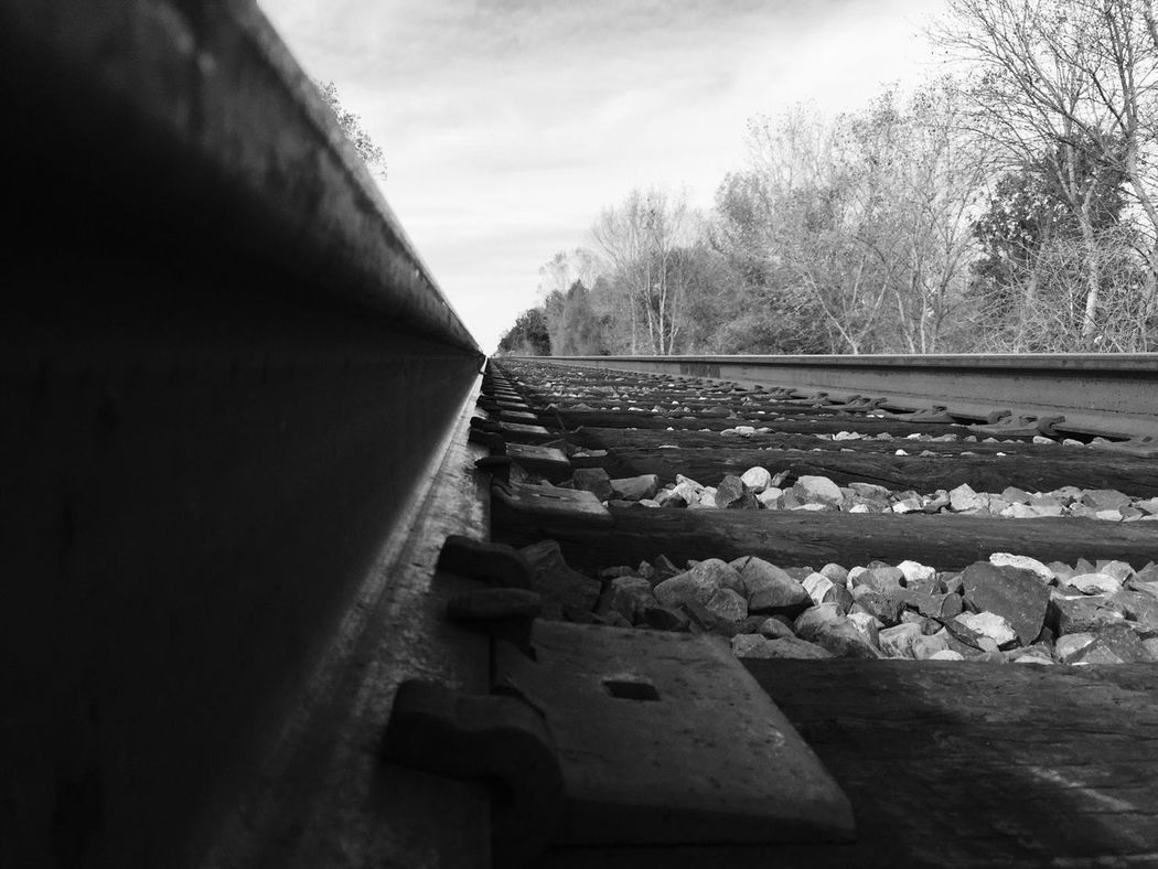 Railroad Blackandwhite IPhoneography