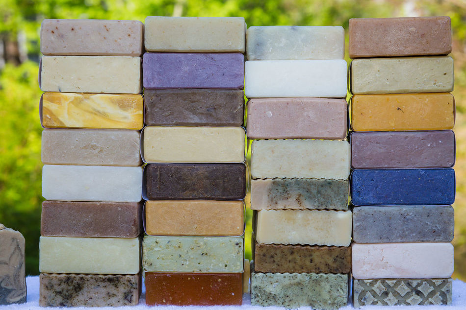All natural colors achieved by using only natural oils herbs and many other found in nature ingredients Choice Colors Handmade Natural Nature Organic Product Photography Soap Still Life Variation