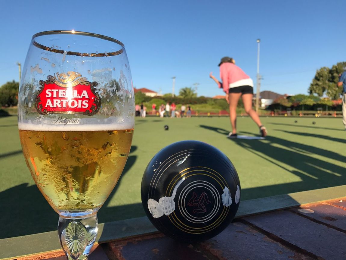 A great afternoon Leisure Activity Lawn Bowls Stellaartois