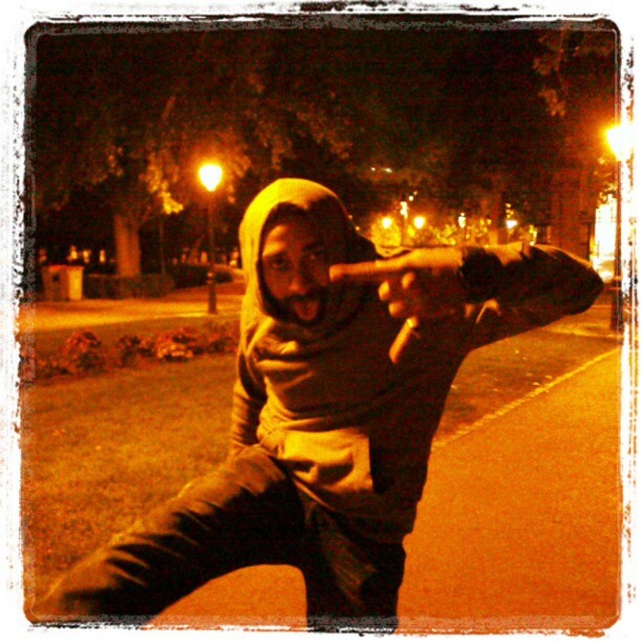 My Friend Goofing Around at ElRetiro el retiro park madrid spain